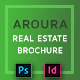 Real Estate Brochure - Aroura - GraphicRiver Item for Sale