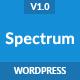 Spectrum - Marketing Landing Page WordPress Theme - ThemeForest Item for Sale