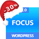 Focus High-Converting Landing Page WordPress Theme - ThemeForest Item for Sale