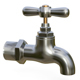 Water tap metal - 3DOcean Item for Sale