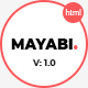 Mayabi - Multipurpose Portfolio/Business HTML5 Template - ThemeForest Item for Sale