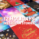 Holidays Instagram Stories Pack - VideoHive Item for Sale