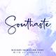 Southaste - a Signature Font - GraphicRiver Item for Sale