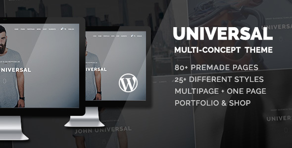 Universal - Smart Multi-Purpose WordPress Theme