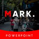 Mark Multipurpose PowerPoint Template - GraphicRiver Item for Sale