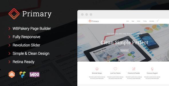 Primary - Business WordPress Theme