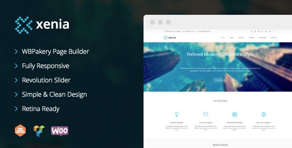 Xenia - Refined WordPress Corporate Theme