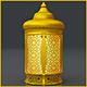 Ottoman Golden Lantern - 3DOcean Item for Sale