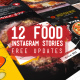Food Instagram Stories Pack - VideoHive Item for Sale