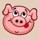Pig Smiley - GraphicRiver Item for Sale