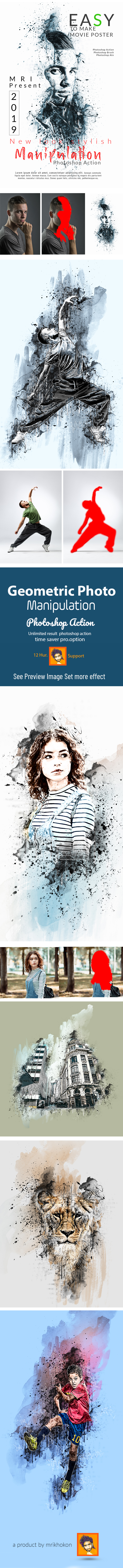 Photoshop Actions from GraphicRiver