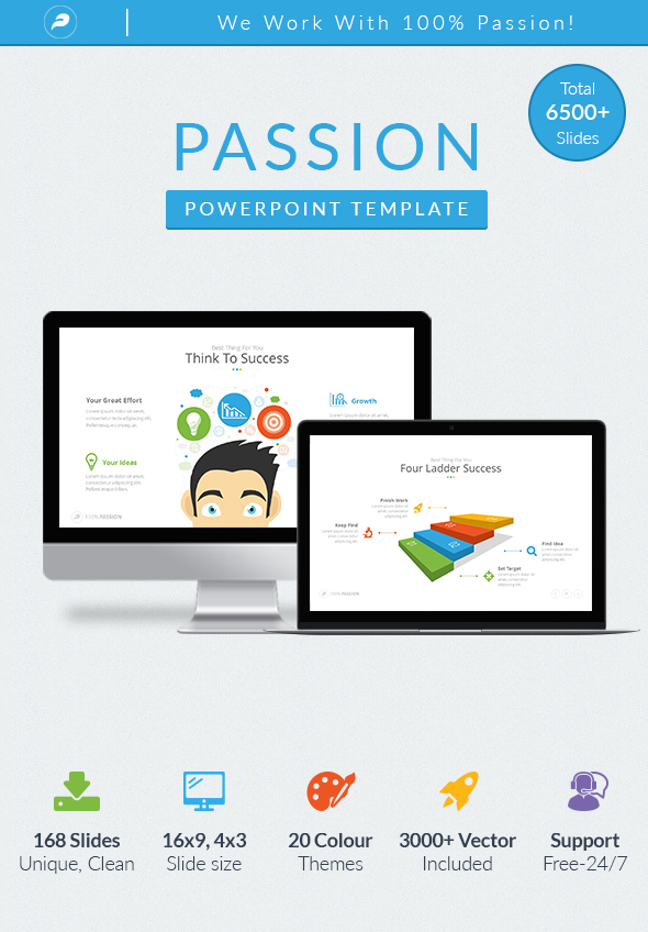 Passion - Business Powerpoint Template