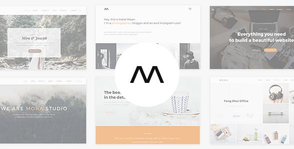 Mora – Creative Portfolio & Photography Theme