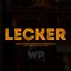 Lecker | Cafe & Restaurant WordPress Theme - ThemeForest Item for Sale