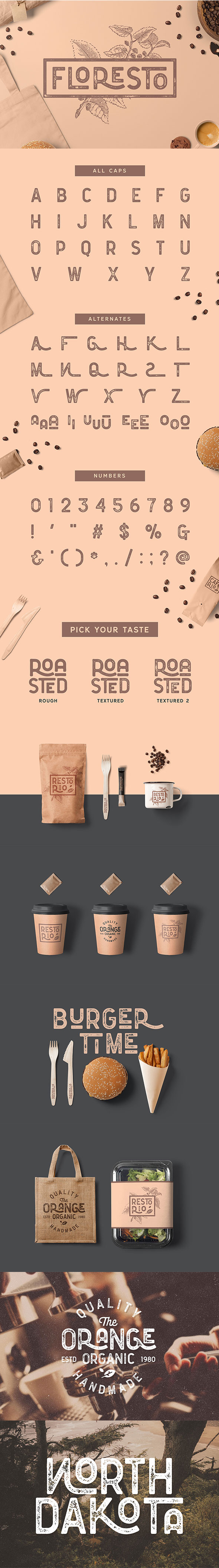 Cafe Fonts from GraphicRiver (Page 2)
