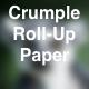Crumpling Thin Paper