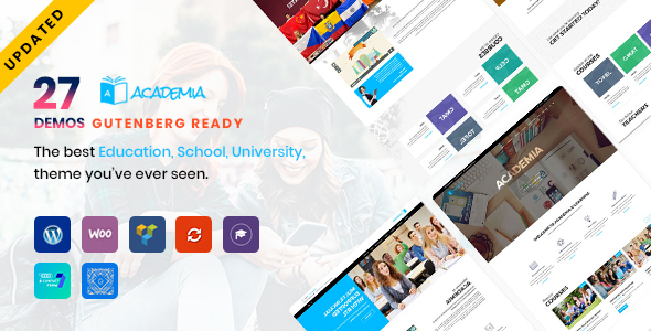 Academia - Education WordPress Theme