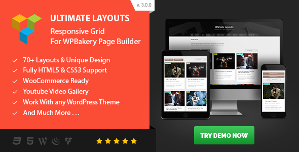 Codecanyon | Ultimate Layouts - Responsive Grid & Youtube Video Gallery - Addon For WPBakery Page Builder Free Download free download Codecanyon | Ultimate Layouts - Responsive Grid & Youtube Video Gallery - Addon For WPBakery Page Builder Free Download nulled Codecanyon | Ultimate Layouts - Responsive Grid & Youtube Video Gallery - Addon For WPBakery Page Builder Free Download