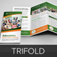 Education College Trifold Brochure Design Template v5 - GraphicRiver Item for Sale