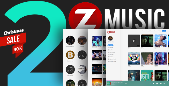Zuz Music - Advance Music Platform System