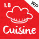Cuisine - WordPress Theme for Restaurant, Cafe, Chef - ThemeForest Item for Sale