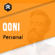 QONI - Personal Resume HTML Template - ThemeForest Item for Sale