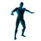 Neon Dancer Contours - GraphicRiver Item for Sale