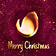 Christmas Logo Performance with Glitter Particles - VideoHive Item for Sale