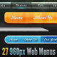 Modern Clean Web Menus & Styles Pack - GraphicRiver Item for Sale