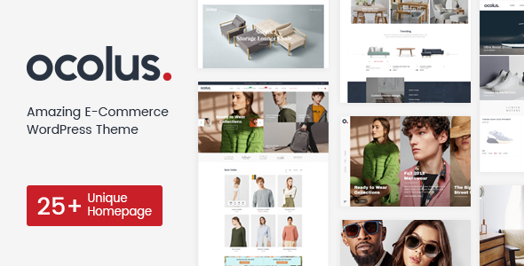 Ocolus - Fashion & Marketplace Multipurposes WooCommerce Theme