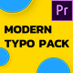 Modern Typography - Essential Graphics | Mogrt