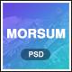 Morsum - Agency PSD Template - ThemeForest Item for Sale