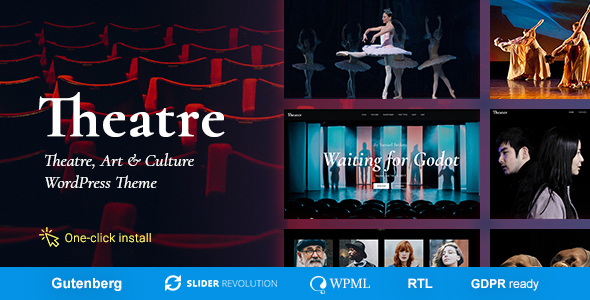 Download Theater – Concert & Art Event Entertainment Theme Nulled