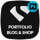 Stencil - Portfolio, Blogging & Shop - ThemeForest Item for Sale