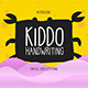 Kiddo Handwriting - GraphicRiver Item for Sale