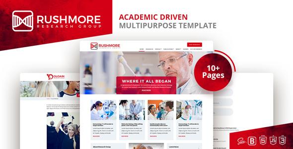 Rushmore-Academic Driven  Multipurpose Template