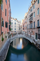 Venice, ancient buildings and calm water in the canal, Italy - PhotoDune Item for Sale