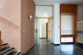Entrance with black marble floor and glass door in apartment interior - PhotoDune Item for Sale