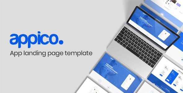 Appico | App Landing Page Template