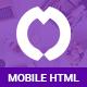 Overux Mobile Multipurpose - HTML App Template - ThemeForest Item for Sale