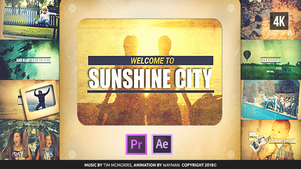 Vintage Slideshow | Sunshine City