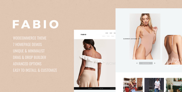Fabio WooCommerce Shopping Theme
