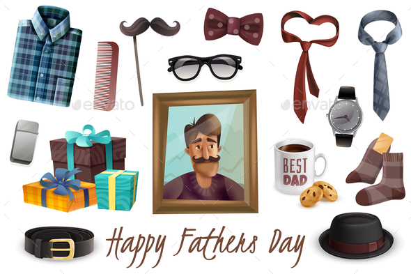 Happy Fathers Day Set