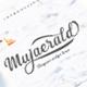 Mujaerald Font - GraphicRiver Item for Sale