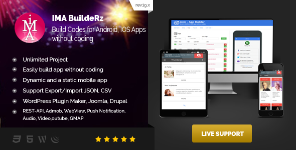 Ionic Mobile App Builder Cracked Codecanyon (3 31 MB) - Nulled