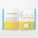 Reinforced Two Pocket Presentation Folder Mockup - GraphicRiver Item for Sale