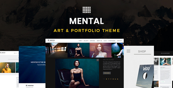 Mental | Art & Portfolio Theme