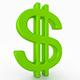 Dollar Symbol 3D Model - 3DOcean Item for Sale