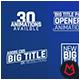 Big Title Animation 8K v.01 - VideoHive Item for Sale
