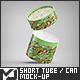 Short Tube / Can Packaging Mock-Up - GraphicRiver Item for Sale